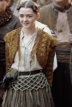 "gameofthronesdaily: ""♕ Arya dans Game of Thrones 6.06"" Blood of My Blood """""