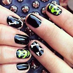 Cool. Punk rock nails