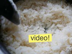 Con este método, es imposible que el arroz te salga mal. Cómo hacer un arroz…