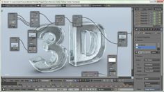 Blender Tutorial: Ice Crack and Shatter Text Effect