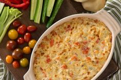 Dip into our savoury Creamy Red Pepper and Artichoke Dip featuring artichokes, roasted red peppers, HEINZ SERIOUSLY GOOD Mayonnaise and an irresistible blend of cheeses. Try serving this delicious hot dip at your next gathering of family or friends. Hot Appetizers, Appetizer Dips, Appetizer Recipes, Mayonnaise, Queso Fundido Recipe, Russian Potato Salad, Roasted Red Pepper Dip, Artichoke Dip, Kraft Recipes