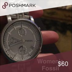 Women's Fossil watch Gently used. Fossil Accessories Watches