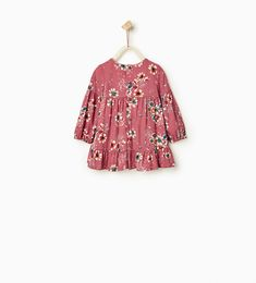 Floral dress-DRESSES-Baby girl-Baby | 3 months - 3 years-KIDS | ZARA United States