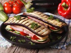 Croque monsieur d'aubergines - Recette de cuisine Marmiton : une recette