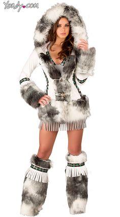 Eskimo Fringe Dress
