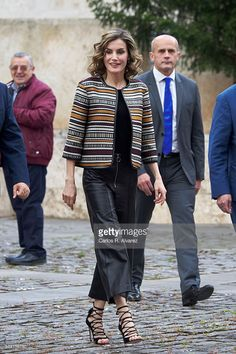 Queen Letizia of Spain attends the inauguration of the 11th International…