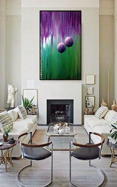 Lona acrílica de arte pintura Original por ORIGINALARTbyANDREA