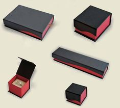 New Design Paper Jewelry Packaging Box (BD-038)