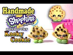 Season 1 Shopkins: How To Make Kooky Cookie Polymer Clay Tutorial! - YouTube