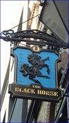 Black Horse - Rathbone Place, London, UK. - Pictorial Pub Signs on Waymarking.com