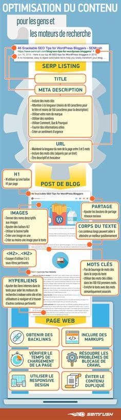 Bloguer pour ses lecteurs ET pour les moteurs de recherche, c'est possible ! Voici la checklist de SEO on-page par @Semrush