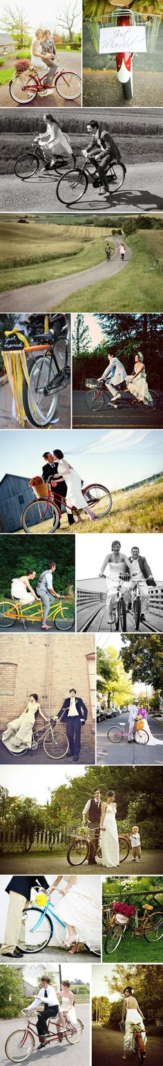 haha def want a pic of us on our badass beach cruisers as engagement pics