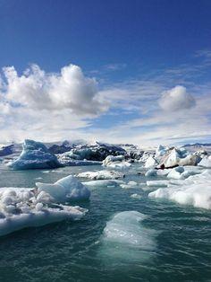 Glaciers at Jokulsaron in #Iceland