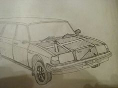 Possible future plans for my car. Yeah the perspective is horrible, but it's just a quick sketch.