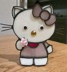 Résultat d'images pour stained glass hello kitty