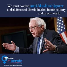 We Must combat Bigotry and Discrimination in our world