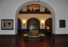 Original details from the 1930s when Conrad Hilton opened this Albuquerque can be seen in the updated Hotel Andaluz's Lobby photo/Steve Collins