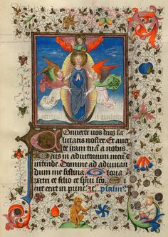 Assumption of the Virgin   Hours of Catherine of Cleves, in Latin   Illuminated by the Master of Catherine of Cleves   Utrecht, The Netherlands   ca. 1440   The Morgan Library & Museum