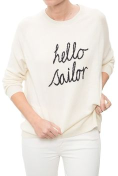 Chinti and Parker Hello Sailor Sweater