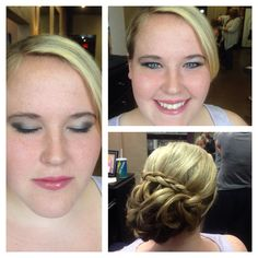 Hair by Tiffany makeup by Kelly