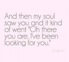 And that's what it did when I first laid eyes on you. I've found you and now I hope to keep you forever. <3