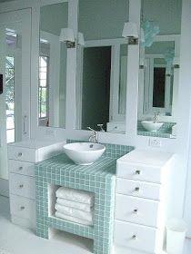 Willow Decor: Beautiful Baths, Creative Storage