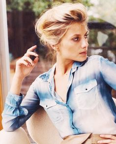 Mélanie Laurent. Image via SYLVIA GET YOUR HEAD OUT THE OVEN