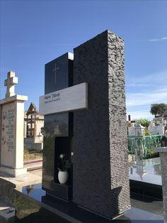 Headstone 3 Cemetery Monuments, Signage, Skyscraper, House Design, Cemetery, Artworks, Facades, Trendy Tree, Architecture