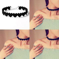 "Harajuku heart-shaped necklace SE10476 Coupon code ""cutekawaii"" for 10% off"