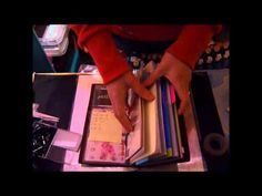 ▶ Dashboard, pocket and binder inserts for your Midori Traveler's Notebook - YouTube