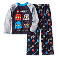 Lego Ninjago Long-Sleeve 2-pc. Knit Pajama Set – Boys 4-12  found at @JCPenney