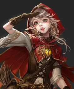 Red Riding Hood who is a werewolf