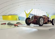 Enzo Ferrari Museum, Modena, Italy. Designed by Jan Kaplický and Future Systems.
