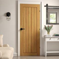Internal Cottage Doors, Solid Oak Internal Doors, Oak Interior Doors, Interior Door Styles, Cottage Doors Interior, Interior Design, Oak Fire Doors, Oak Doors, Sliding Glass Door