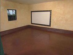Brown Concrete Floor Paint