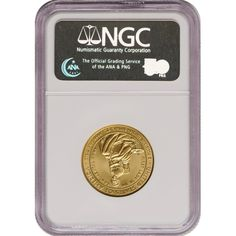 2007-W First Spouse Martha Washington Half Ounce Gold Coin MS70 NGC