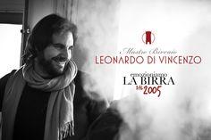 Our headbrewer and founder, Leonardo Di Vincenzo