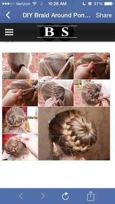 Eine beeindruckende Hochsteckfrisur mit Dutt flechten An impressive updo braided with Dutt braid hair Little Girl Hairstyles, Up Hairstyles, Pretty Hairstyles, Braided Hairstyles, Hairstyle Braid, Wedding Hairstyles, Ballet Hairstyles, Children Hairstyles, Medium Hairstyle
