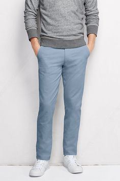 Men s Slim Fit Lighthouse Chino Pants from Lands  End Boys Uniform Pants d11e2568e