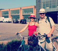 #bike #biketour #cycling #lagoon #venice @cyclecities @CyclingVenice.  Horse riding facilities in Lido.  Venice Lido Bike Tour