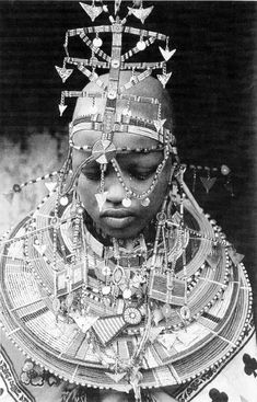African culture in black and white