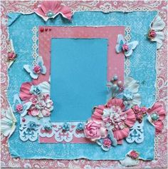 Premade 12x12 Shabby Chic Scrapbook Layout,Prima, MME, Creative Imaginations by ScrapbookDreams for $20.00 #zibbet