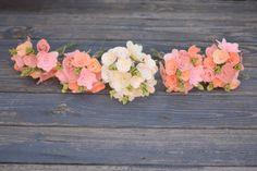 Bridesmaid Bouquets Set of Felt Flower Bridal от SuchASquirrel