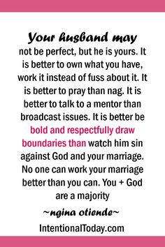 He may not be perfect but he is yours. Work what you have. #BluestoBlissBook