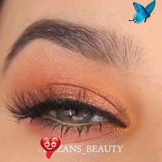 SUPER EASY GLAM EYE MAKEUP A beautiful makeup idea 👌👌 Credits on Instagram: @fruzans_beauty<br>