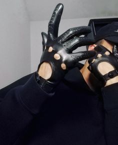 INLEATHERGLOVES Leather Driving Gloves
