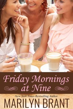 Friday Morning, New York Times, Bestselling Author, Cover Design, Glass Of Milk, Food, Essen, Meals, Yemek