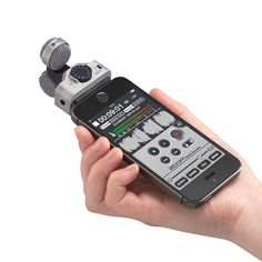 The Zoom is a good mid-side stereo microphone for your iOS devices. Iphone Gadgets, Tech Gadgets, Camera Photos, Hifi Audio, Home Automation, Audiophile, Ipod Touch, Youtube Microphone, Music Production