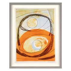 Buy Barbara Hepworth - Genesis Framed Print, 49.4 x 39.5cm Online at johnlewis.com