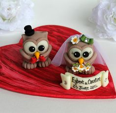 Wedding cake topper, shark and sea turtle cake topper, cute animal cake topper, sea wedding cake topper, bride and groom figurines Owl Cake Toppers, Wedding Cake Toppers, Wedding Cakes, Groom Ties, Types Of Hats, Gifts For My Sister, Traditional Wedding, Cupcake Cakes, Cupcakes